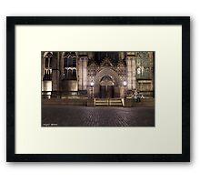 Lover's in St Giles Framed Print