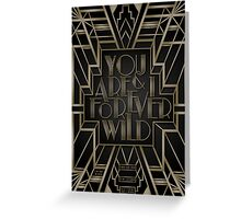Forever Wild Greeting Card