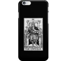 The Emperor Tarot Card - Major Arcana - fortune telling - occult iPhone Case/Skin