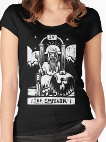 The Emperor - Tarot Cards - Major Arcana Women's Fitted Scoop T-Shirt
