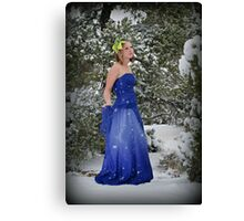 Winter formal Canvas Print