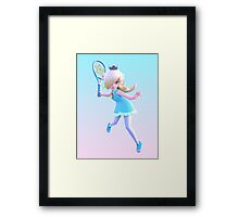 Ultra Smash: Rosalina Framed Print