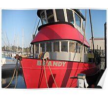 "Fishing boat ""Brandy"" Poster"