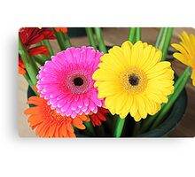 Flowers - HDR Canvas Print