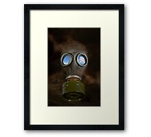 Just Breathe Normally Framed Print