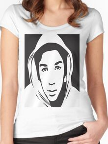 Trayvon Martin T-Shirt (Jamie Foxx As Seen On TV)  Women's Fitted Scoop T-Shirt