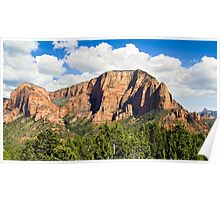 Kolob Canyons Distric of Zion NP Poster