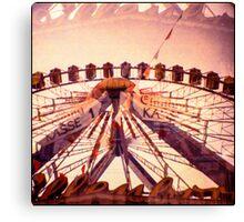 Ferris Wheel Double nr.2 Canvas Print