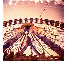 Ferris Wheel Double nr.2 Photographic Print
