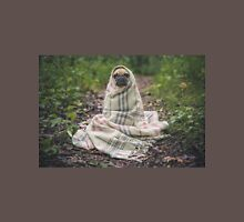 Pug Wrapped In Blanket Unisex T-Shirt