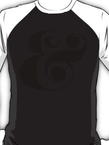 Ampersand (Eloquent Swash) T-Shirt