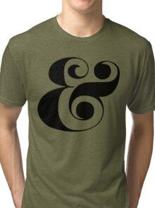 Ampersand (Eloquent Swash) Tri-blend T-Shirt