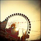 Ferris Wheel Double nr.3 by lucie richter