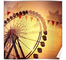 Ferris Wheel Double nr.4 Poster