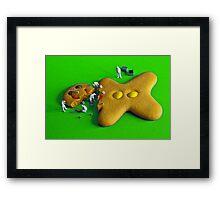 Who killed Ginger green? Framed Print