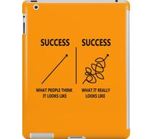 Success What People think It Looks Like iPad Case/Skin