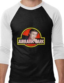 Alan Partridge jurassic park t shirt Men's Baseball ¾ T-Shirt