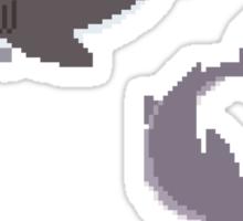Pixel Sharks - Set of 3 Sticker
