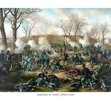 Battle of Fort Donelson -- Civil War by warishellstore