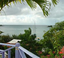 A view from a hotel in Grenada by KempleyCraft