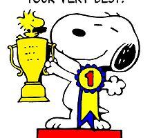 Winner Snoopy by CeaserTee
