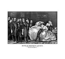 Death Of President Lincoln Photographic Print