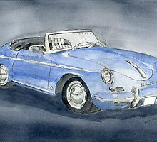 1956 Porche 356B Roadster by Eva  Ason