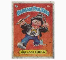Garbage Pail Kids Greaser Greg by jayayala
