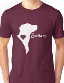 Brittany <3 in white! Unisex T-Shirt