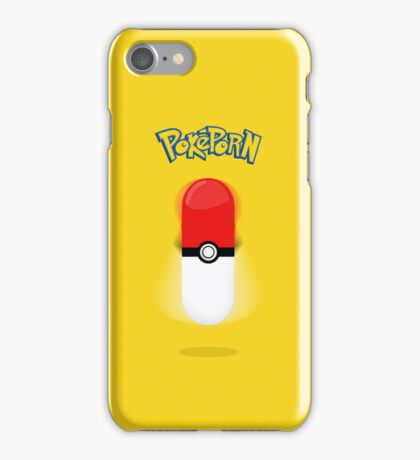 Poképorn - Pokédildo Yellow Case iPhone Case/Skin