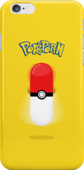 Poképorn - Pokédildo Yellow Case by ghostmeat