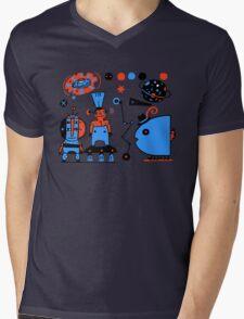 Unterwegs im Paralleluniversum KT04. Mens V-Neck T-Shirt
