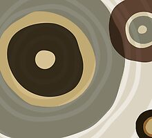 Brown circles by nomielboim