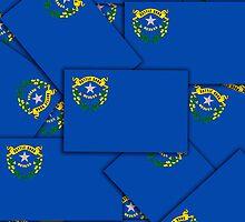 Smartphone Case - State Flag of Nevada - Multiple by Mark Podger