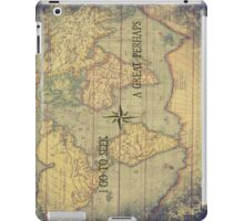 I go to seek a Great Perhaps iPad Case/Skin