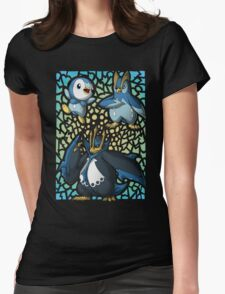 Piplup! Prinplup! Empoleon! Womens Fitted T-Shirt