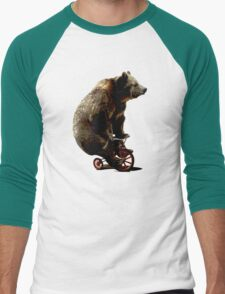Black Bear Funny Bicycle Bear T-Shirt