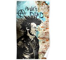 Punk is dead Poster
