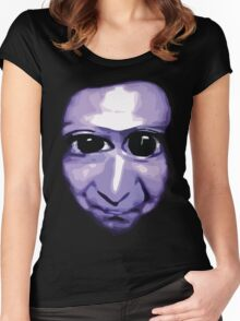 Ao Oni Women's Fitted Scoop T-Shirt