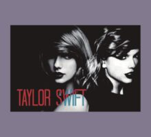 Taylor Swift Black and White Edit Kids Tee