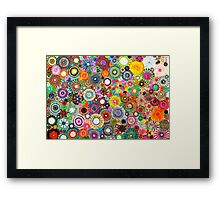 Childhood Dreams -filtered Spirograph Art Framed Print