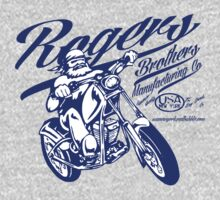 usa ny biker by rogers brothers T-Shirt