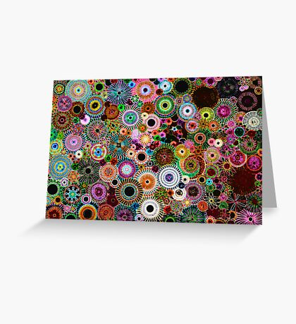 Dark Dreams- Spirograph Art Greeting Card