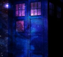 Cosmic Tardis by emmadoggett
