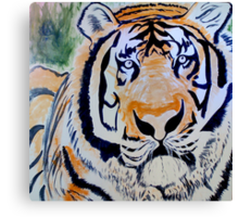 Tiger Quest Canvas Print