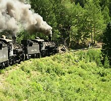 Steam Engines on a Grade by TommyWilliams