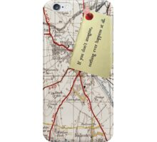 If you never imagine... iPhone Case/Skin