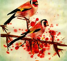 Love Birds by Ashley Bauer