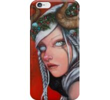 Hel Mother of Krampus  iPhone Case/Skin