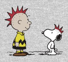 Snoopy and Charlie Brown Punk One Piece - Long Sleeve